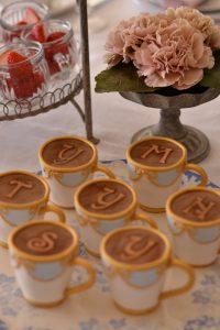 シュガーケーキ ティーカップ型ケーキ
