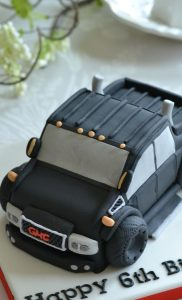 シュガーケーキ 車型ケーキ