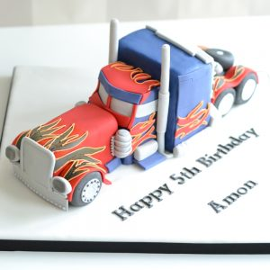 シュガーケーキ トラック型ケーキ