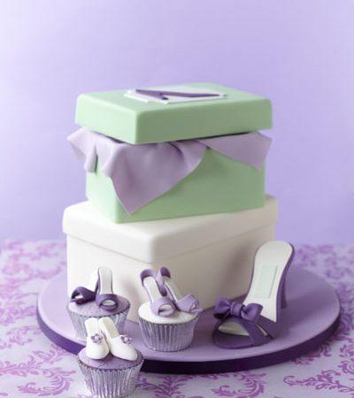 シュガーケーキ ハイヒールケーキ シューズボックスケーキ