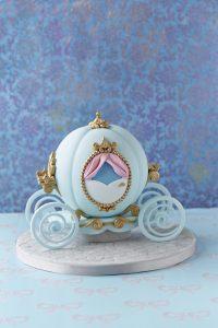 シュガーケーキ シンデレラのカボチャの馬車ケーキ