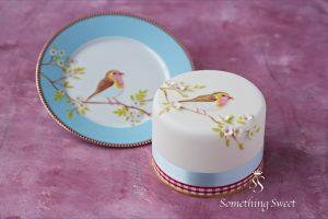 シュガーケーキ 小鳥ケーキ テーブルウエアケーキ