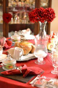 バレンタイン パーティー スイートテーブル キャンディーテーブル