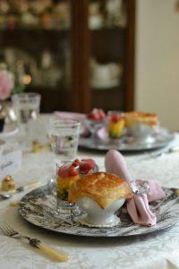 シュガーケーキ パーティー バレンタイン パイシチュー レイヤードサラダ