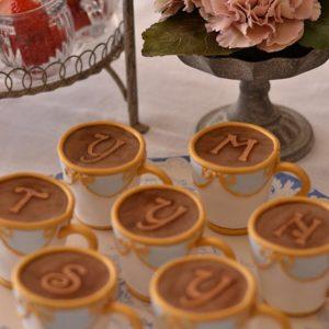 シュガーケーキ パーティー バーレイ ティーカップ ティーカップケーキ テーブルウエアケーキ