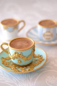 シュガーケーキ ティーカップケーキ アンティークケーキ テーブルウエアケーキ KPM